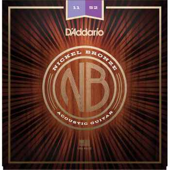 D´addario NB1152 Custom Light cuerdas guitarra acústica
